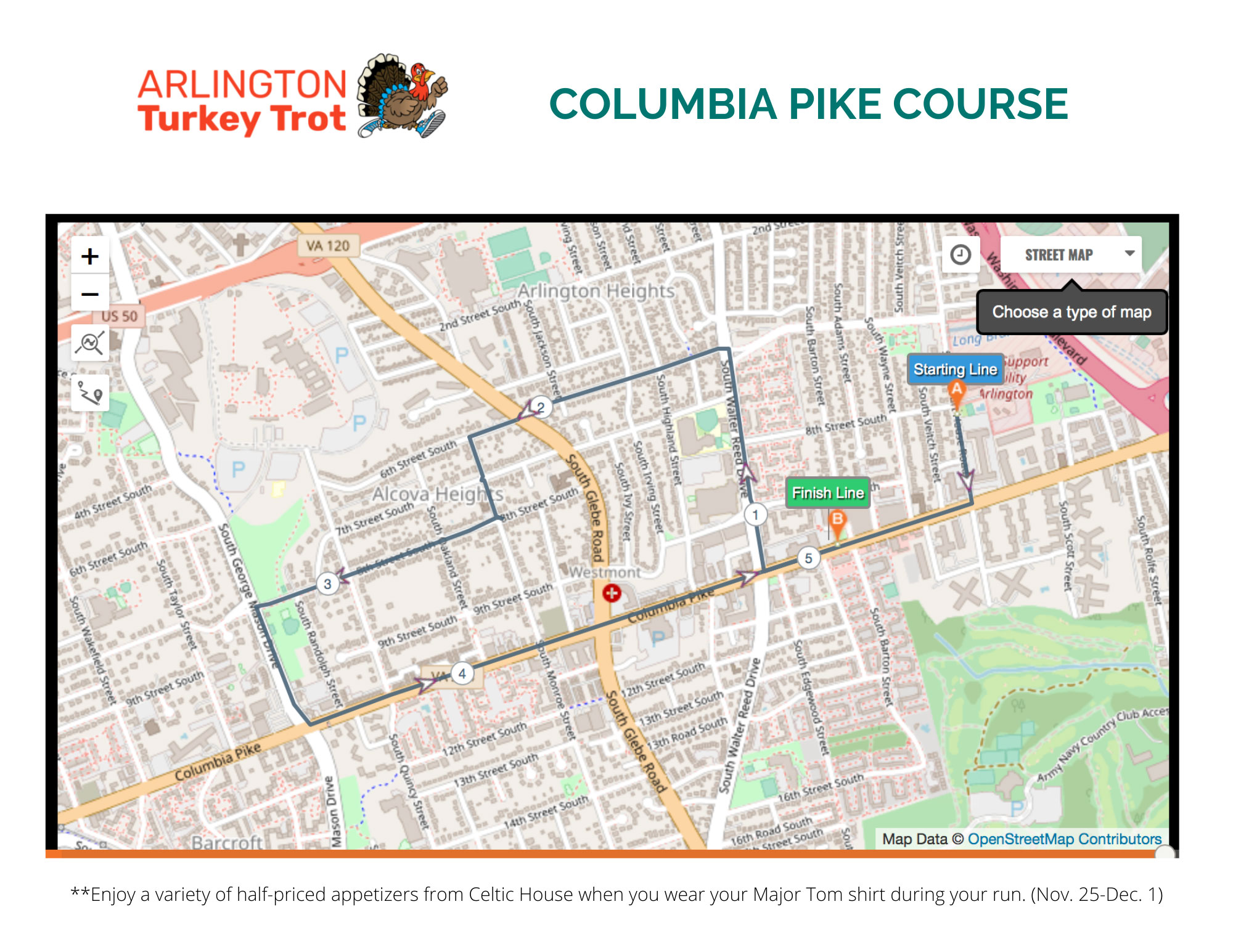 arlington-va-turkey-trot-columbia-pike-course-map