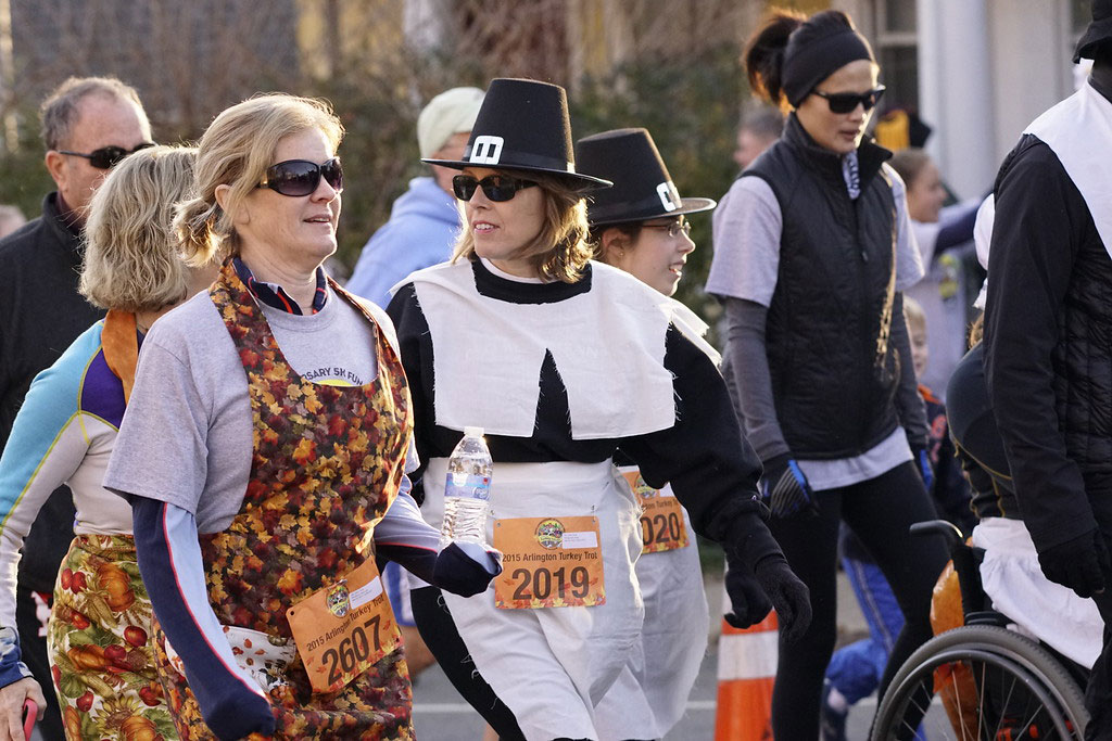 photo-of-arlington-va-turkey-trot-pilgrims